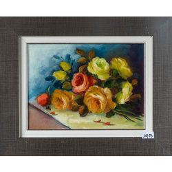 The colorful rose