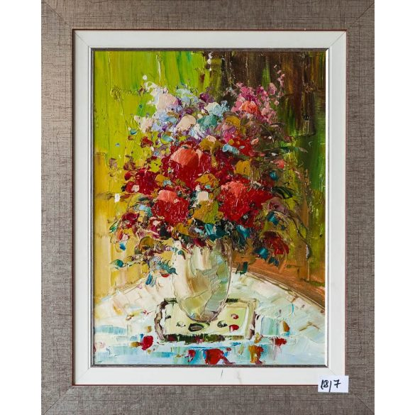 Bouquet on the vase